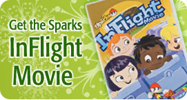 Sparks InFlight Movie DVD